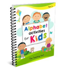 Free Alphabet Activities for Kids Ebook