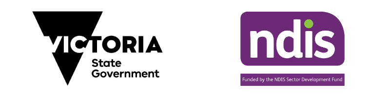 Victoria State Government. NDIS - Funded by the NDIS Sector Development Fund