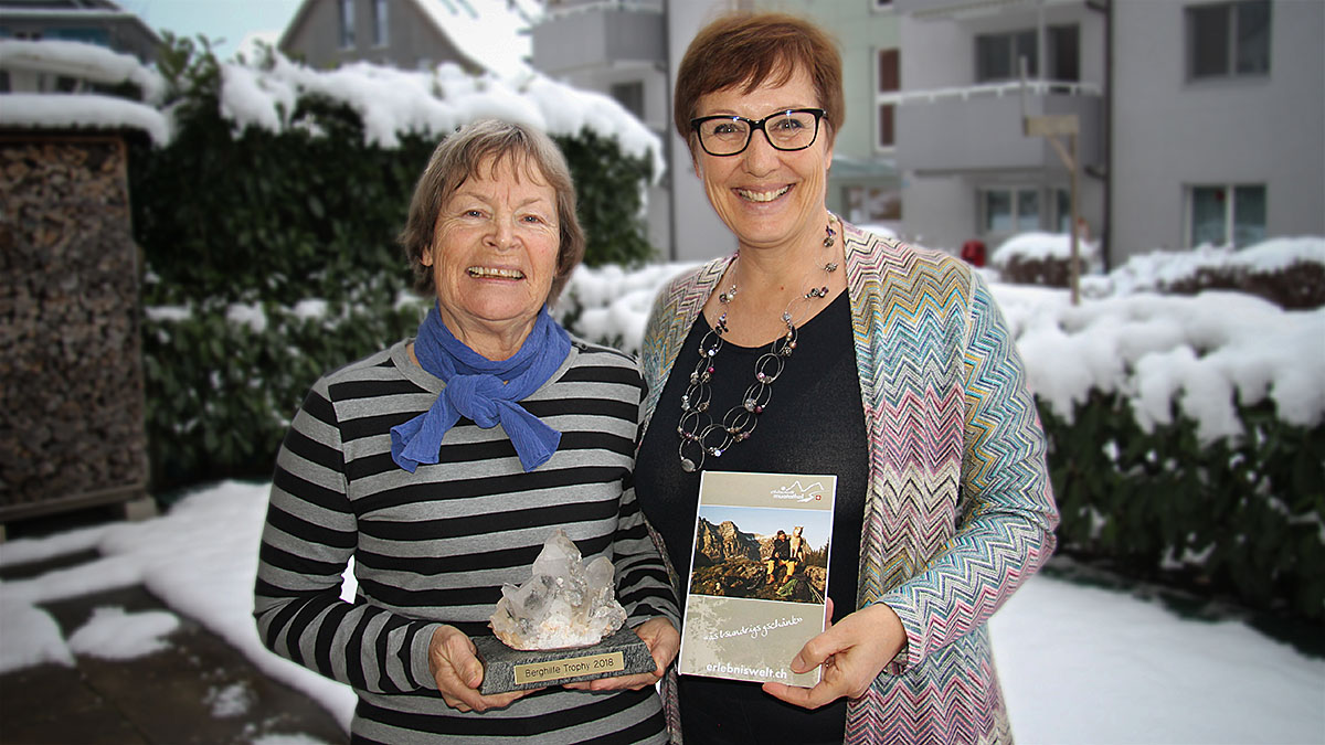 Regina Stooss (links) und Regula Straub