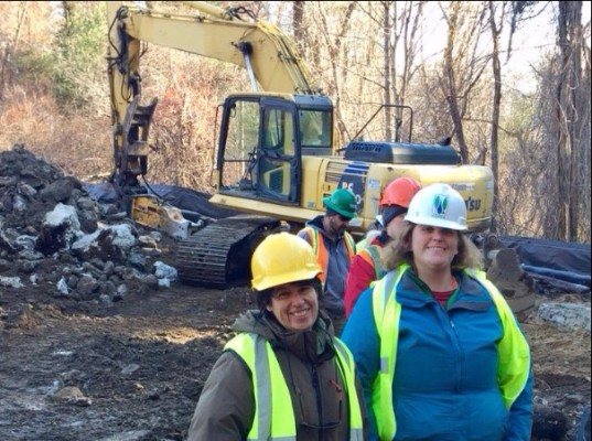 MassBays at dam removal
