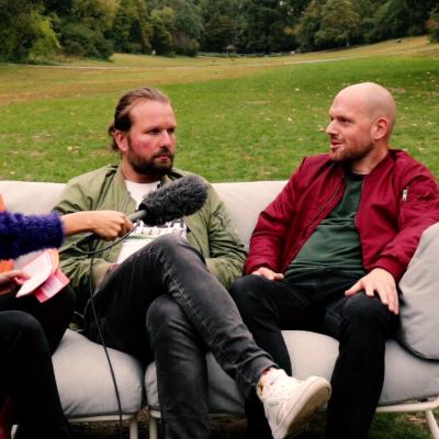 Bildschirmfoto ufuq.de Couch Talk mit Nils Katz und Tobias Nolte; Bild: ufuq.de
