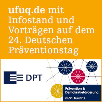 Textfeld: ufuq.de auf dem 24. Deutschen Präventionstag
