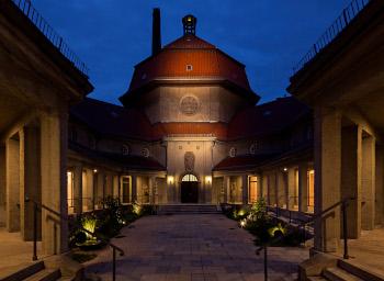 Foto der Veranstaltungsstätte silent green Kulturquartier; Bild: Cordia Schlegelmilch