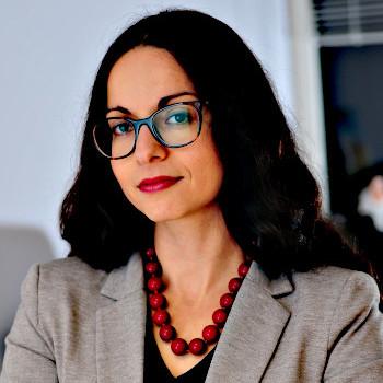 Porträtfoto Marina Chernivsky; Bild: Pierre Kamin