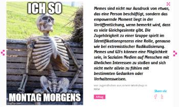 Meme Skelett bildmachen.net
