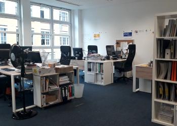 aktuelle ufuq.de-Büroräume in der Boppstraße; Bild: ufuq.de