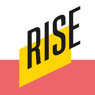 """Logo des Projekts """"RISE – Jugendkulturelle Antworten auf islamistischen Extremismus"""""""