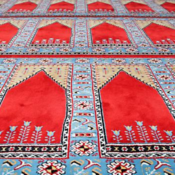 Symbolbild Teppich in einer Moschee/Moschee Schorndorf; Bild: Evangelisches Schuldekanat Schorndorf/Flickr