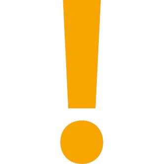 Symbolbild Ausrufezeichen