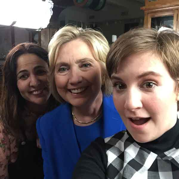 Hillary with Lena & Jenni