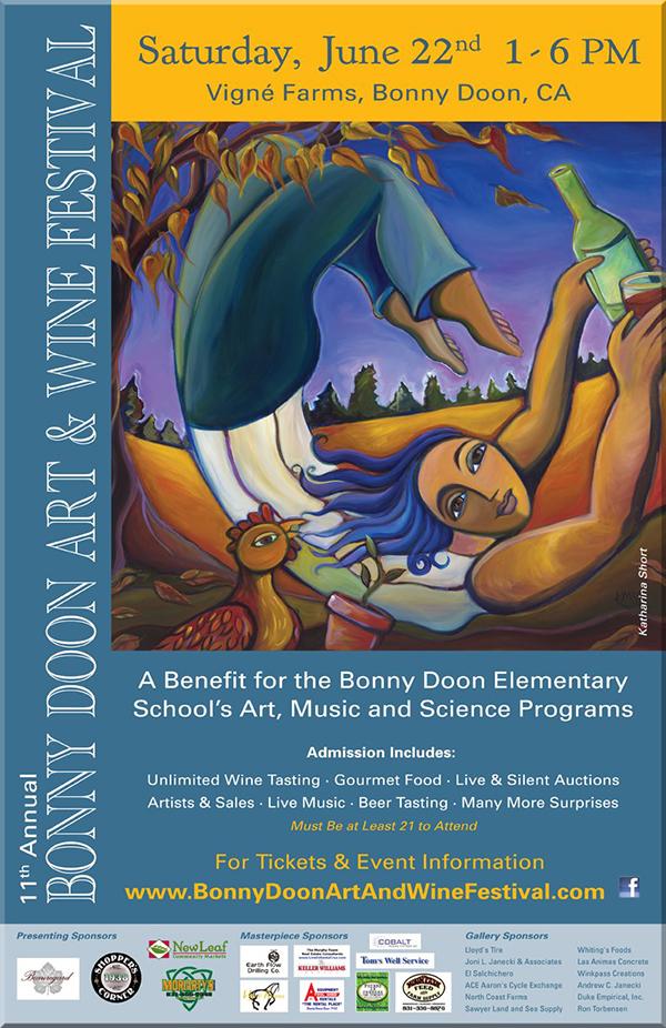The 11th Annual Bonny Doon Art & Wine Festival