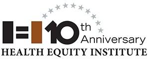 Health Equity Institute 10th Anniversary logo