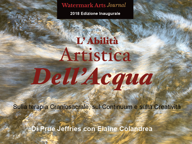The Artistry of Water   Italian edition