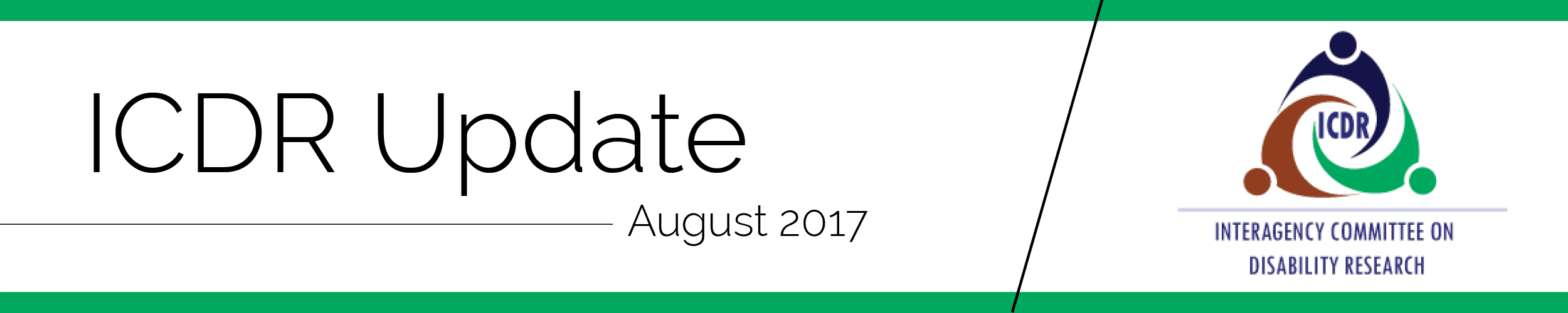 ICDR Update - August 2017