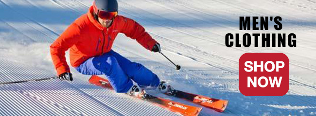 Men's Ski and Snowboard Equipment and Clothing