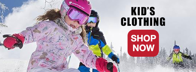 Kid's Ski and Snowboard Equipment and Clothing