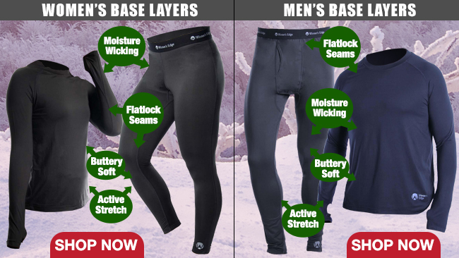 Women's and Men's Base Layers