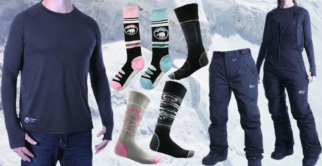 Base Layers, Ski & Snowboard 