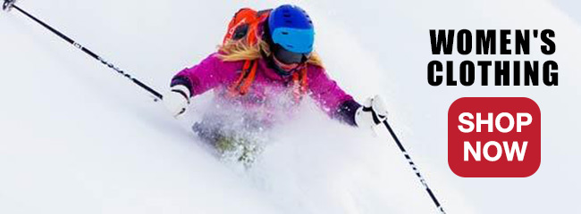 Women's Ski and Snowboard Equipment and Clothing