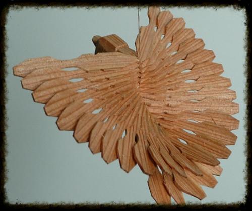 Fan Bird Carving course in Cumbria. Steve Tomlin.