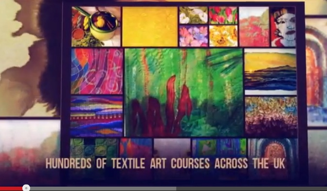 YouTube film of Textile craft courses across the UK