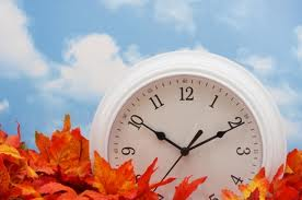 Fall Back! Daylight Savings Time Ends!