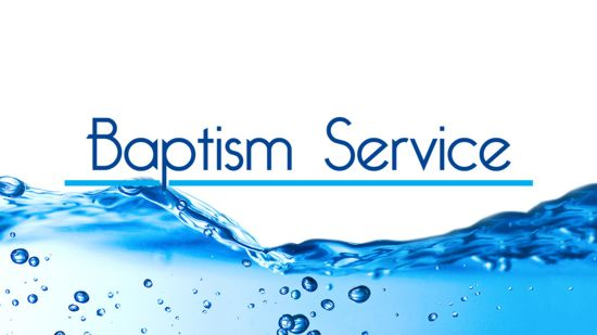 Baptism Service Meeting