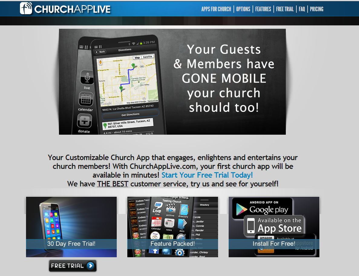 Mobile App for your church