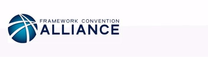 Framework Convention Alliance e-News
