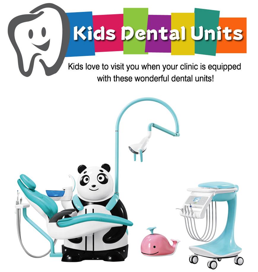 TR-KID-8 Lovely Panda Kids Dental Unit
