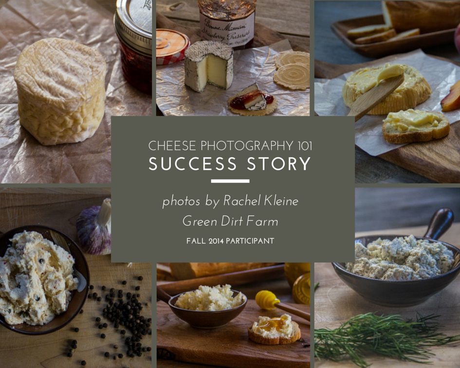 Cheese Photography 101 Success Story - Photos by Rachel Kleine, fall 2014