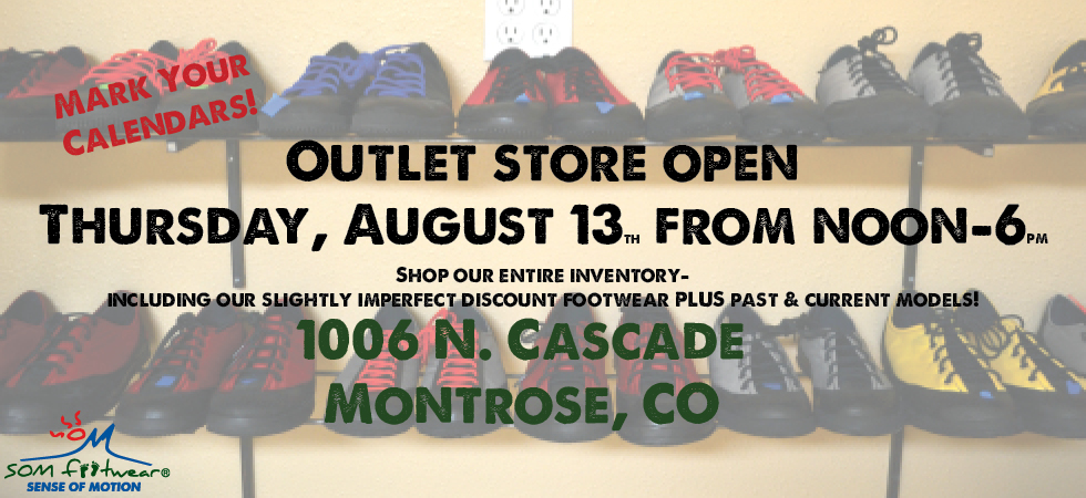 American made shoe store outlet opening.