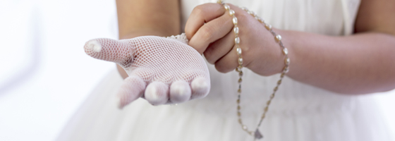 First Communion Invitations @ Polka Dot Design