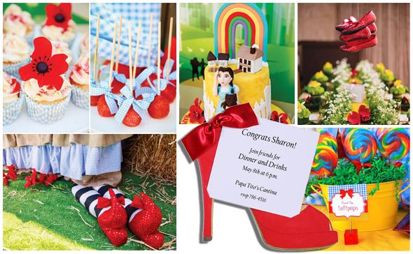 Wizard of Oz Party Ideas @ Polka Dot Design