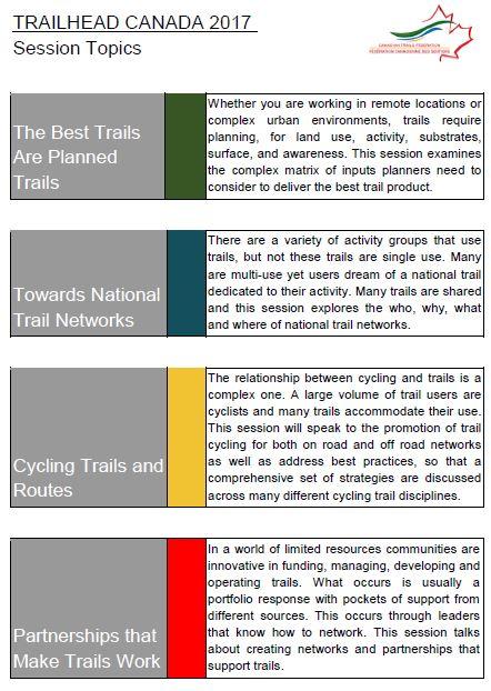 trailhead canada 2017 topics 1