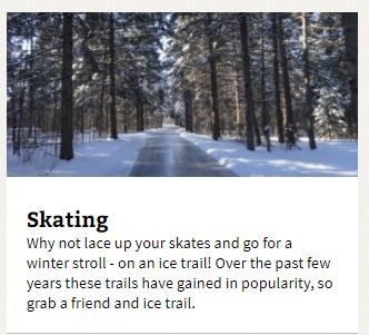 ontario trails winter skating trails