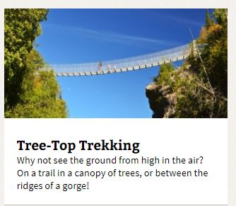 ontario trails tree top trekking and aerial trails