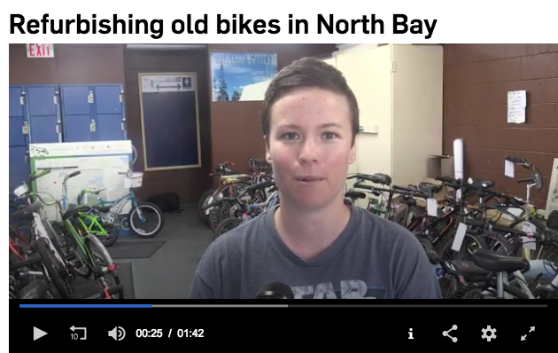 discovery routes refurbishing bikes in north bay