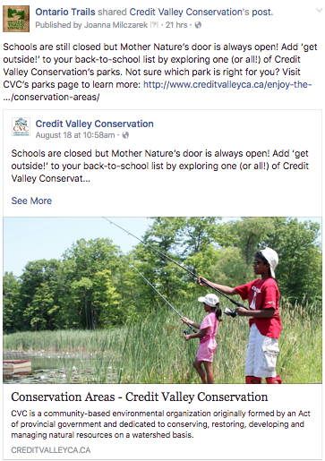 credit valey conservation youth programs