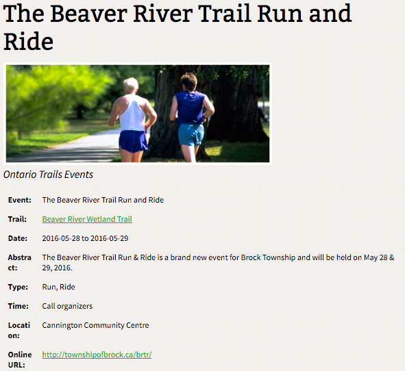 beaver river run cannington