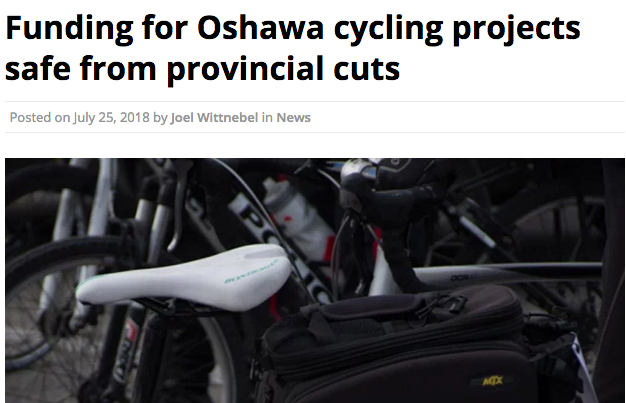 oshawa cycling projects continue