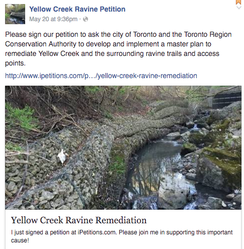 yellow creek facebook page