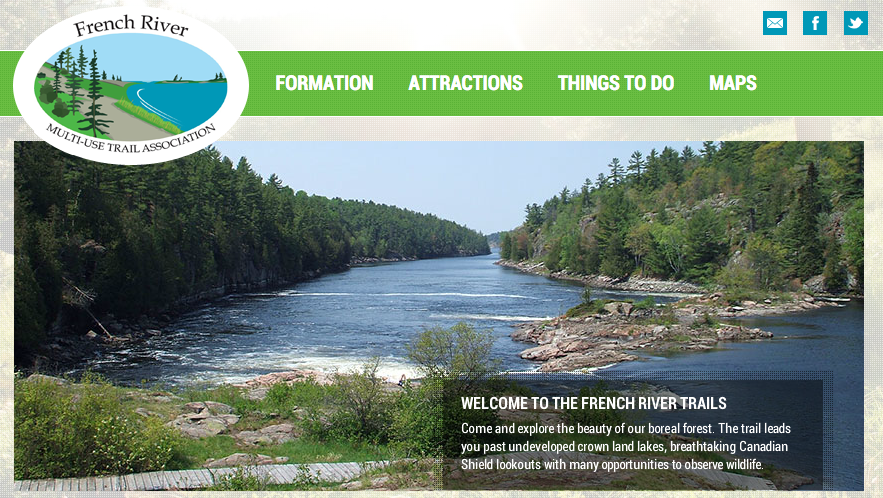 french river multi use trails association