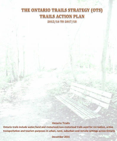 ontario trails coordinating committee action plan