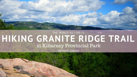 hiking granite ridge trail