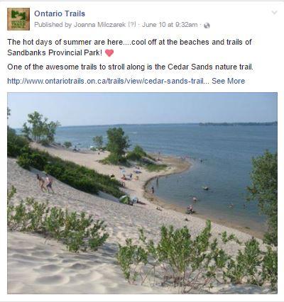 sandbanks pp trails