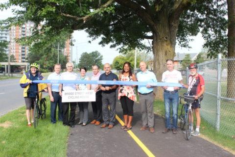 quinte bike path opens