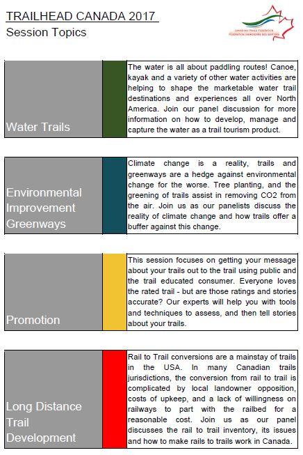 trailhead canada 2017 topics 2