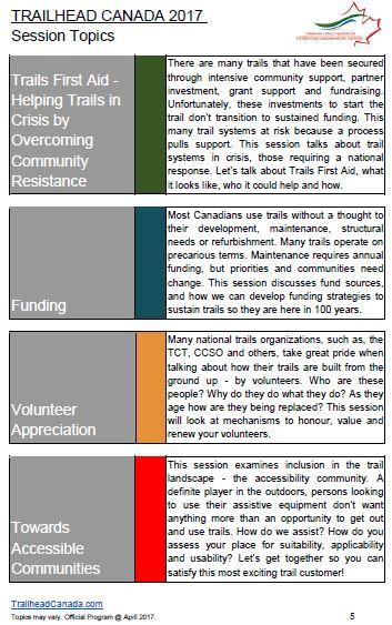 trailhead canada topics page 5
