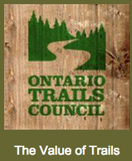ontario trails the value of trails logo